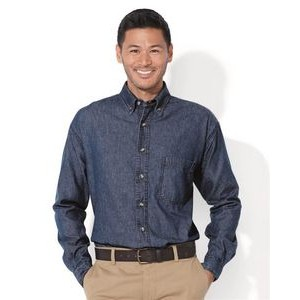 Sierra Pacific Long Sleeve Denim Shirt