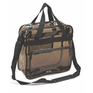 Transparent Black Messenger Bag